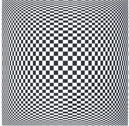 60s-style op art canvas at Next