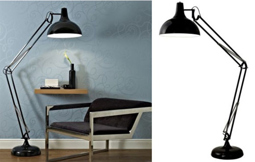 B&Q Tecton - giant Anglepoise-style lamp for your living room ...