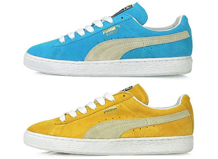 bb1afd5bf68 A 70s classic trainer is back with two tasty new colourways – the Puma  Suede Classic.
