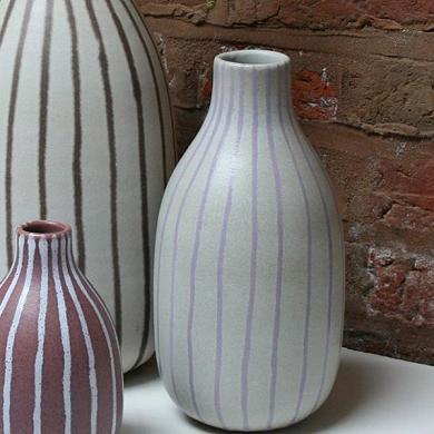 Paradisverkstan-pink-stripe-vase
