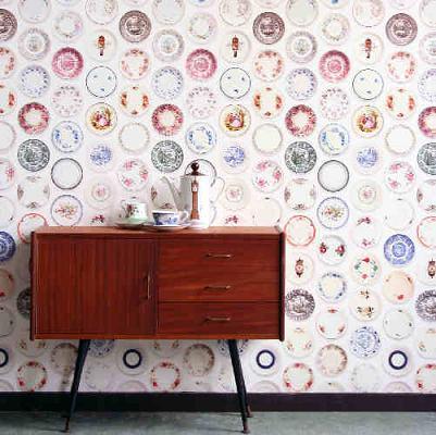 Plate wallpaper