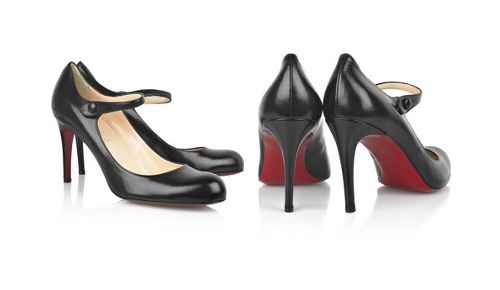 christian louboutin corto mary jane pumps