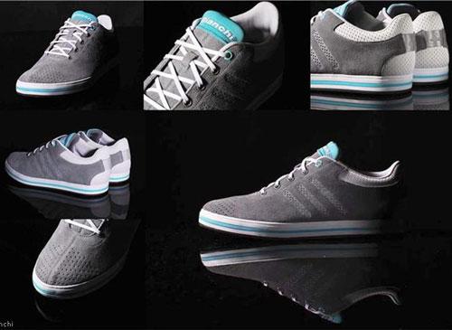 60fd275217c Zeitfrei Adidas cycling shoes for Bianchi - Retro to Go