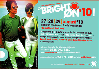 Brighton August BH weekender