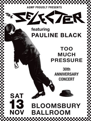 The Selecter 30th anniversary gig