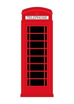 RedTelephoneBoxWhite