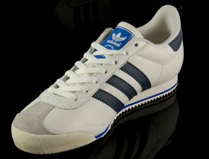 1970s Adidas Kick trainers get reissue in white - Retro to Go 384bdf228