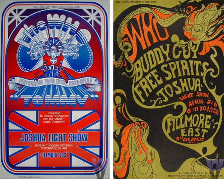 The Who at Filmore posters