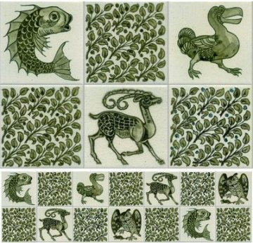 William-de-morgan-animal-tiles