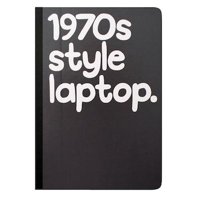 1970s style laptop