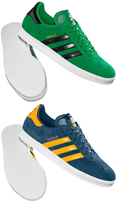 new arrival e5d3d e34e5 Adidas Gazelle trainers reissued in bright new colourways