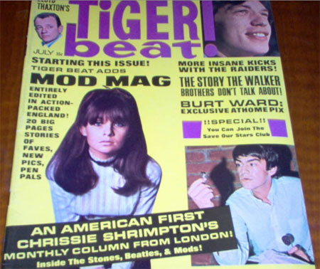 eBay watch: 1960s Tiger Beat! magazine