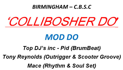 Collibosher Do in Birmingham