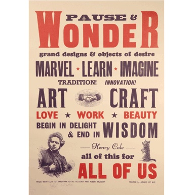 Pause and wonder