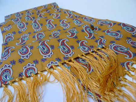Jump The Gun silk scarves