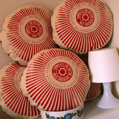 Tunnock cushion