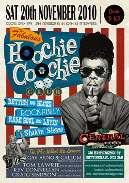 Hoochie Coochie Club – Nottingham