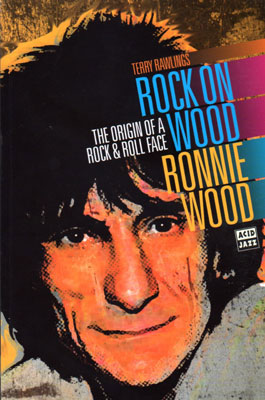 Ronnie Wood book – HMV exclusive