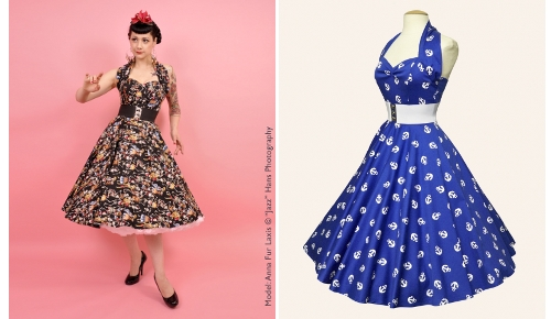 4457c1299ef For a genuine fifties look in your retro reproduction dresses