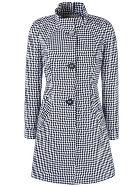 Four Seasons dogtooth coat