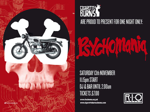 Psychomania screening in London