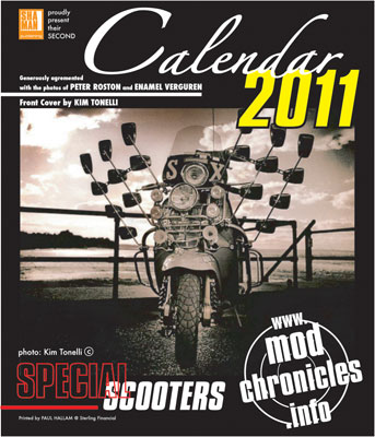 Mod Chronicles 2011 calendar