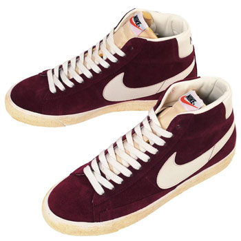94526ba8497f4c Nike Blazer High Suede Vintage QS 1970s basketball shoes - Retro to Go