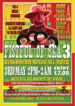 Fistful of Ska 3 alldayer (Brighton)