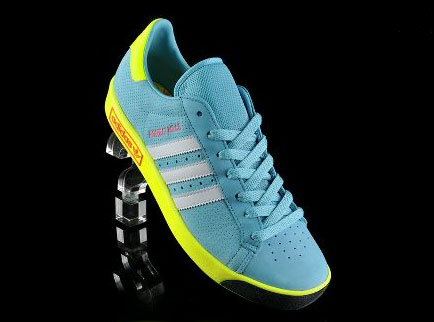 1bd1a5e3aba Not long after one colourful makeover comes another colourful reissue of  the classic Adidas Forest Hills.