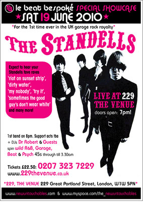 The Standells live in London