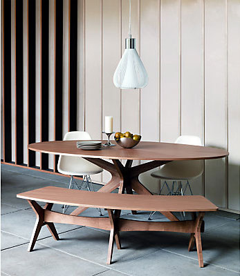 Retro To Go: Rigby midcentury-inspired dining furniture at John Lewis