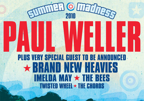 Paul Weller – Isle of Wight (August BH)