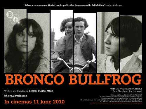Bronco Bullfrog – screening dates
