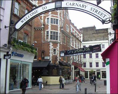 Carnaby Street 60s weekender