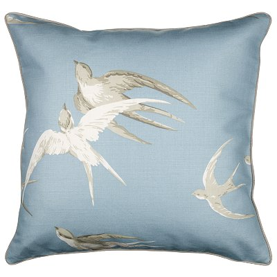 Sanderson swallow cushion