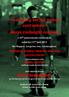 Dexy's 30th anniversary event