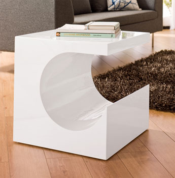 super popular 26421 75d22 70s-style Sculptural side table at Dwell - Retro to Go