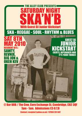 Club focus: Ska 'n' B (Cambridge)