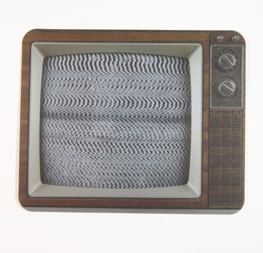 Retro TV mousemat