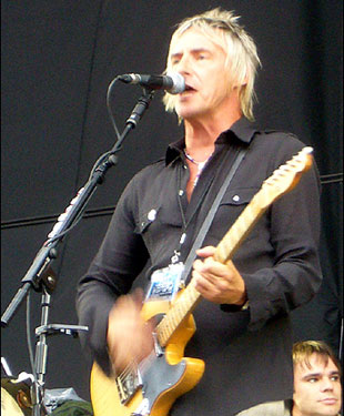 Paul Weller does Pretty Green clothes