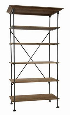 Industriel bookcase