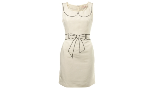Miss Selfridge Stitch Shift Dress