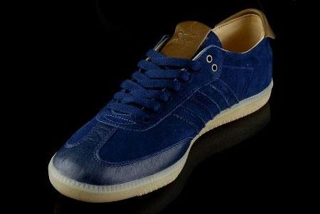 blue samba adidas trainers