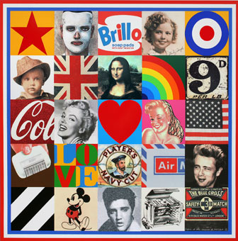 Sir Peter Blake at Christie's