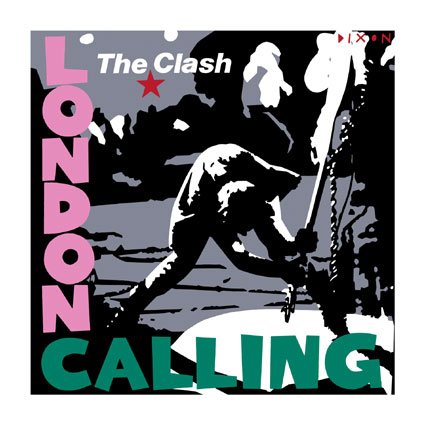 London Calling Giclee Canvas Album Cover Picture Art The Clash