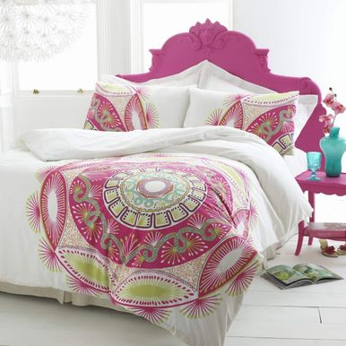 Zandra Rhodes bed linen