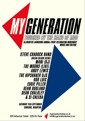 My Generation allnighter – full line-up
