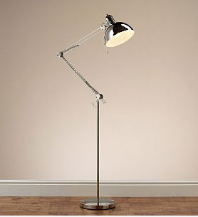 Marks and Spencer Anglepoise-style oversized floor lamp - Retro to Go