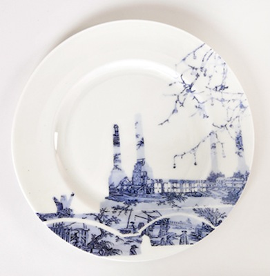 Toile plate