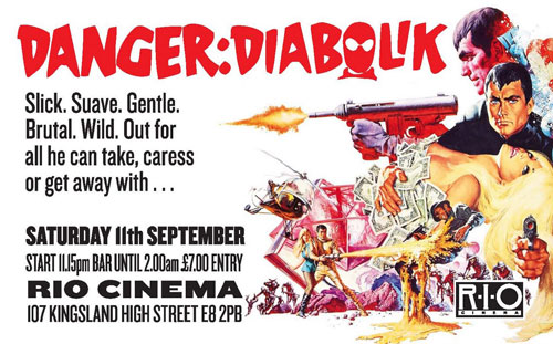 Danger: Diabolik screening in London